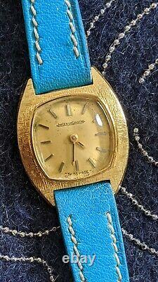 Jaeger Lecoultre, or, gold, Edmond Jaeger, femme, lady, serviced, révisée