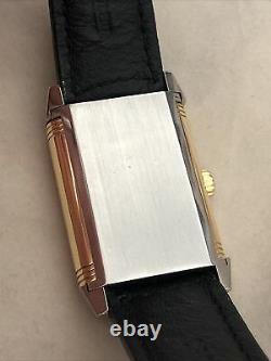 Jaeger-lecoultre Reverso 270.5.62 Steel Gold Mecanic Grande Taille Used Original
