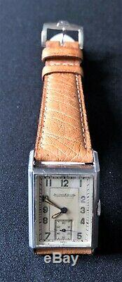 Jaeger lecoultre uniplan 1940 + NOS JLC Strap and JLC Buckle
