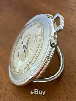 LeCoultre Memovox Montre de poche et de voyage 1950/1960s