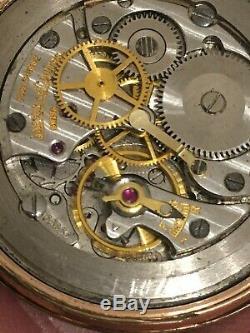 MONTRE JAEGER LECOULTRE Mécanique VERS 1960 CAL P800C Fonctionne WATCH OROLOGGIO