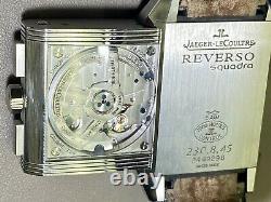 Magnifique montre JAEGER LECOULTRE Reverso Squadra Chronographe