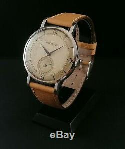 Montre Ancienne Vintage Watch Big Jaeger Lecoultre 50's Manual Wind