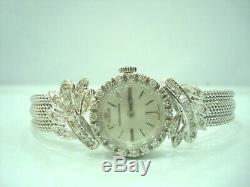 Montre Dame Jaeger Lecoultre Or Blanc 18 Carats 750/000 Diamants Dpvr301/9