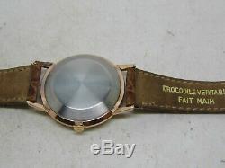 Montre JAEGER LECOULTRE Automatic boite plaqué or mouvement K881 vers 1960