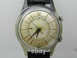 Montre JAEGER LECOULTRE MEMOVOX mécanique cal K814 vers 1950 diamètre 35 mm