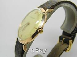Montre JAEGER LECOULTRE en or 18k mouvement 480 vers 1950-1960 vintage