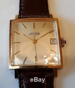 Montre JAEGER mécanique Suisse distribuée par jaeger le coultre année 70