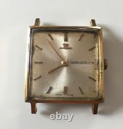 Montre Jaeger Lecoultre Ancienne Mécanique Plaqué Or Vintage Mecanic Watch