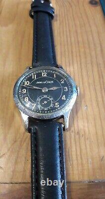 Montre Jaeger Lecoultre Militaire Officier Allemand Ww2 Cal. 463 Orologio Reloj