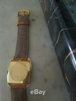 Montre Jeager Lecoultre Mecanique Vintage 18k Gold