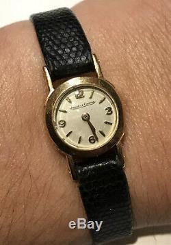 Montre Mecanique Femme Jaeger Lecoultre En Or 18 K @ Jaeger Lady Watch Gold 750