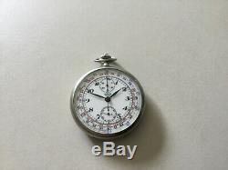 Montre ancienne chronographe JAEGER LECOULTRE, pocket watch