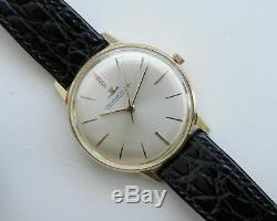 Montre-bracelet Jaeger-LeCoultre pour homme 750 en or jaune 18 carats