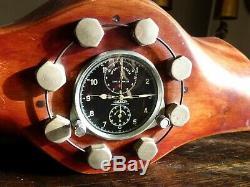 Montre de bord Chronometre 8 JOURS JAEGER LECOULTRE monté sur Hélice d'avion