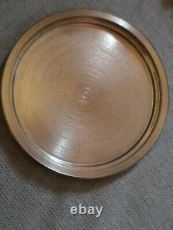 Montre jaeger lecoultre jumbo vintage 36 mm hors couronne 40 mm avec couronne