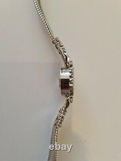 Montre jaeger lecoultre or 18K 40 diamants