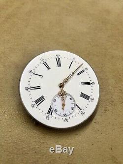 Mouvement Gousset Sonnerie Minute / Movement Repeater Minute LeCoultre
