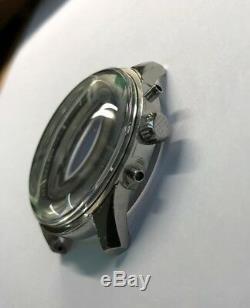 Nice crystal verre plastic Dome JAEGER LeCoultre POLARIS vintage ref E859