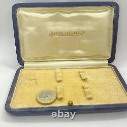 Rare Boite Pour Montre Jaeger LeCoultre Vintage De Femme & 2 Bracelets