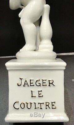 Rarissime Angelot Publicitaire Porcelaine Montre Jaeger Lecoultre @ 1960 Watch