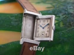Reverso Jaeger-Lecoultre 1930s first series rare vintage watch montre art déco