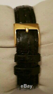 Sublime Jaeger Lecoultre Vintage Montre quartz 30mm acier-or