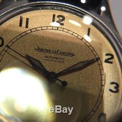 Superbe Montre Bracelet En Acier Automatic De Marque Jaeger Lecoultre @ Watch