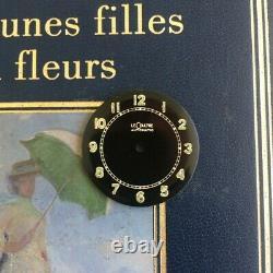 VINTAGE Military LeCoultre DIAL fit calibre JLC 476