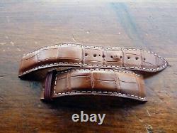 Véritable Bracelet pour montre Jaeger-Lecoultre Alligator 19 X 16 mm