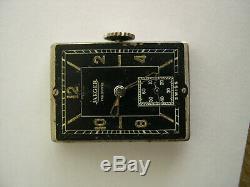 Vintage montre bracelet JAEGER LECOULTRE UNIPLAN wristwatch 1930