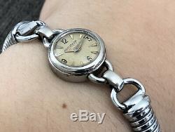 Watch / Montre Mecanique Femme Marque Jaeger Lecoultre Jaeger Lady Watch Duoplan